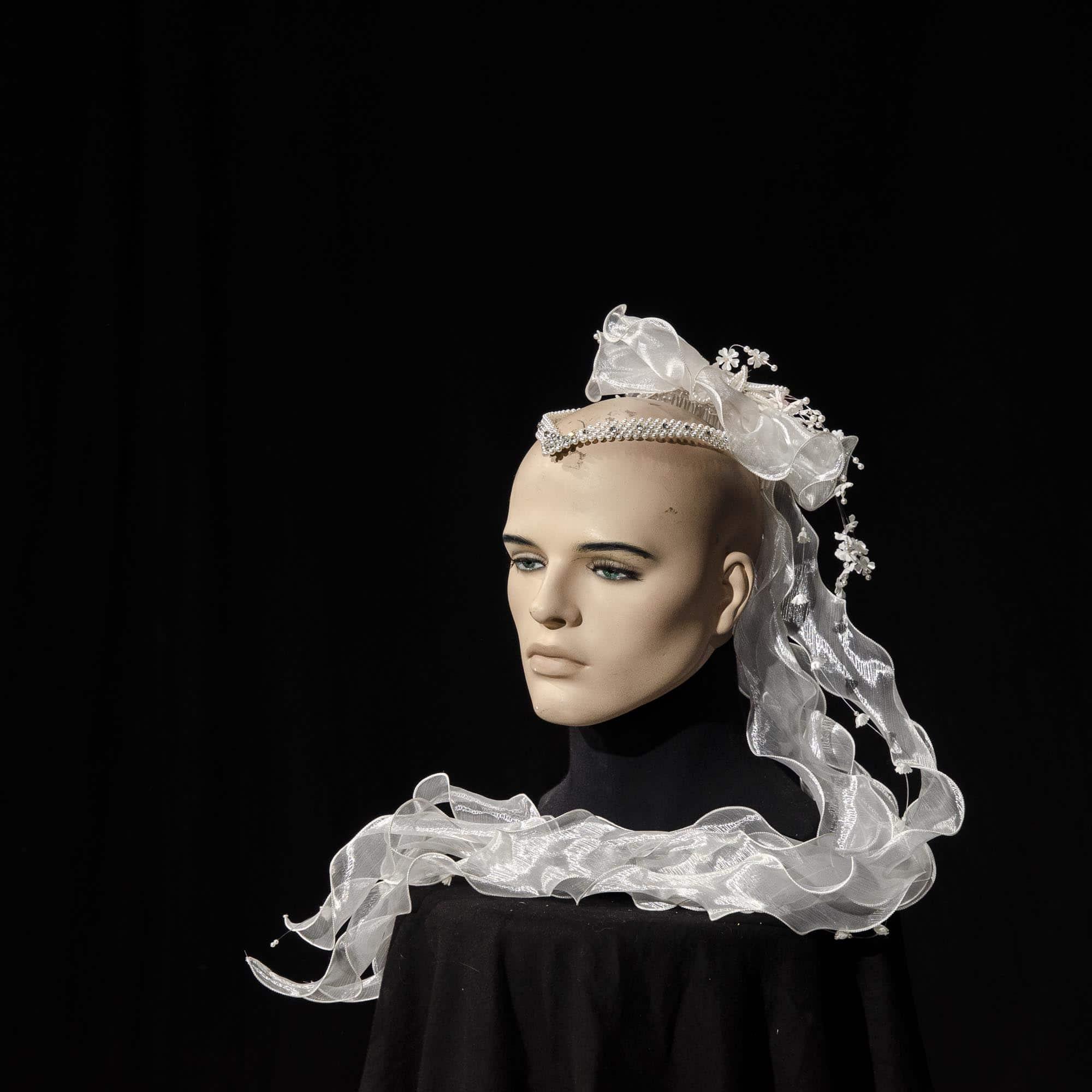 Kopfschmuck 'Braut' AC011