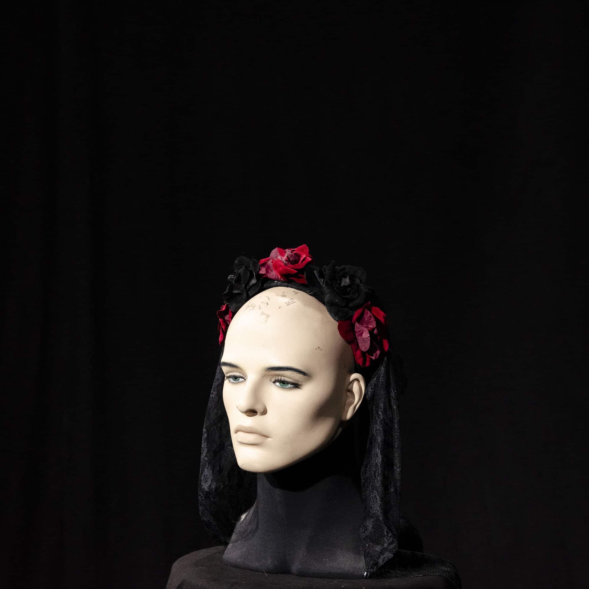 Haarreifen mit Blumen AC014