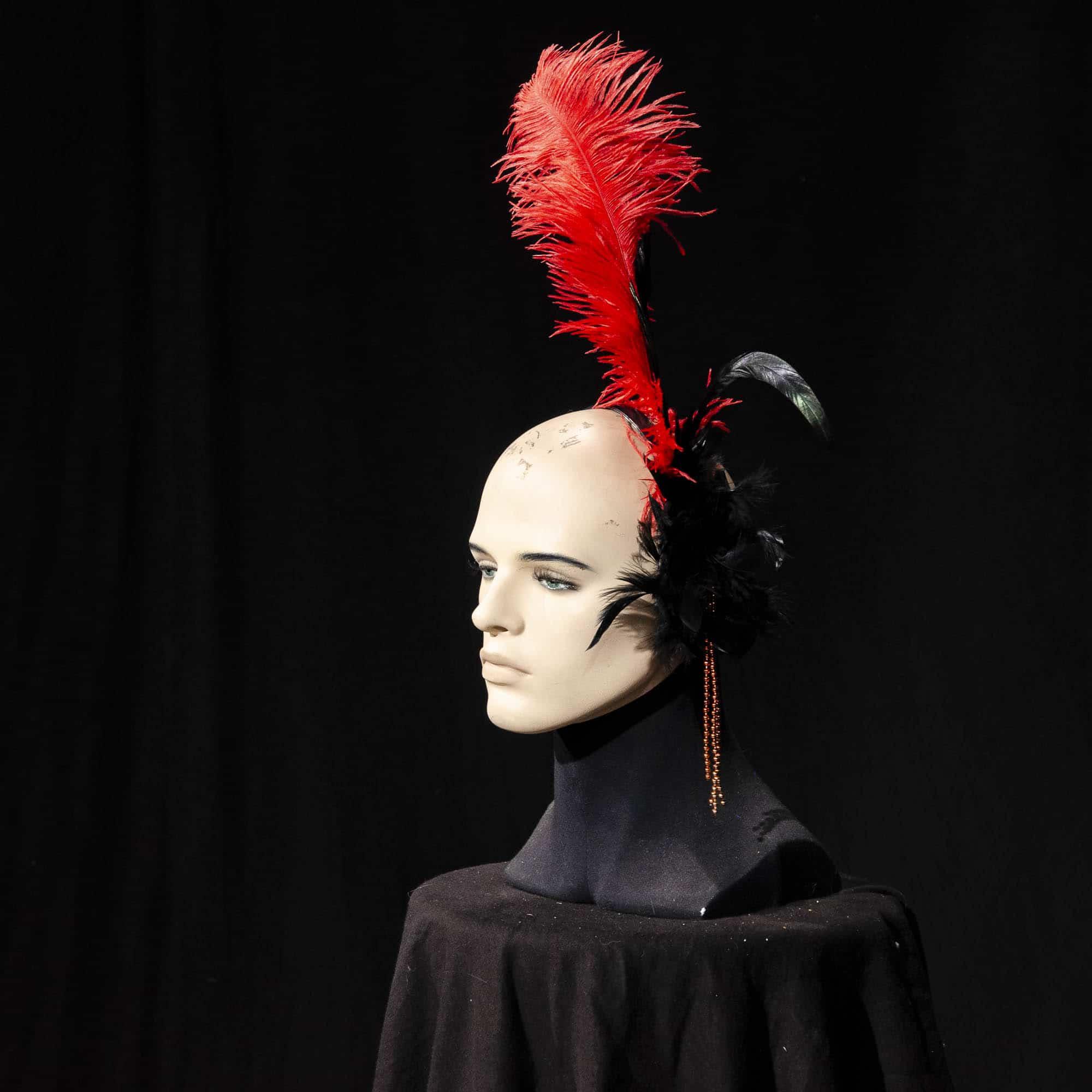 Haarreifen mit Federn AC015